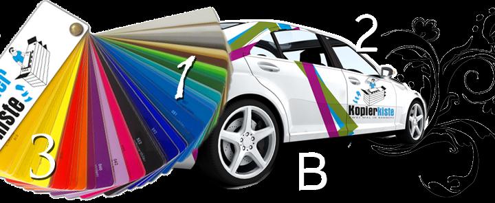 Carstyling, Auto- & Fensterbeschriftung